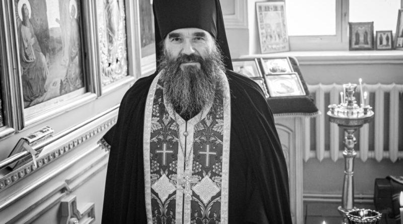 Состоялось отпевание почившего клирика епархии иеромонаха Георгия