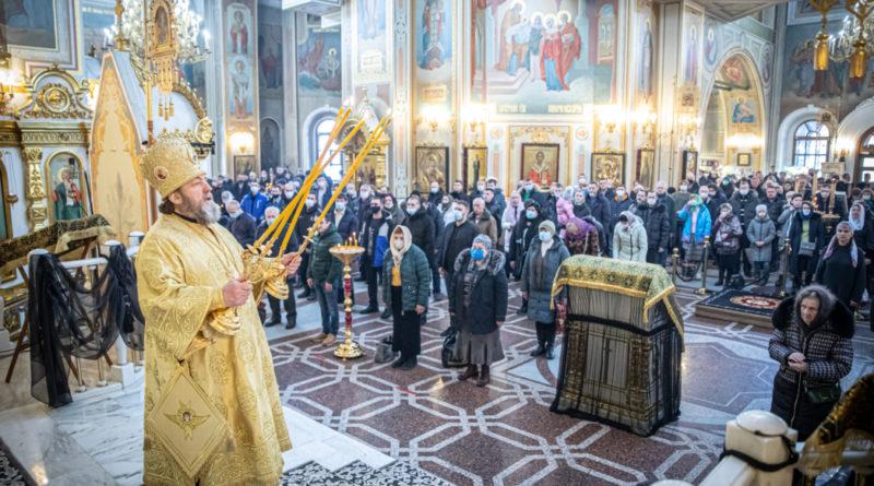 Архипастырское служение в Неделю Торжества Православия
