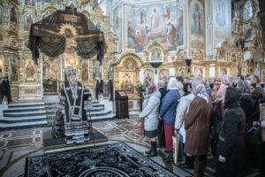 Проповедь митрополита Викторина на третьей Пассии