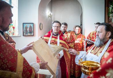 Состоялось освящение храма вмч. Георгия Победоносца г. Ижевска