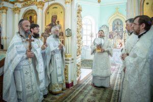 Архипастырское служение в праздник Вознесения Господня