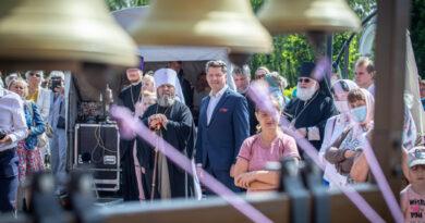 В Ижевске впервые прошел фестиваль колокольного звона