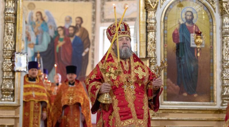 Архиерейское служение в день памяти пророка Илии