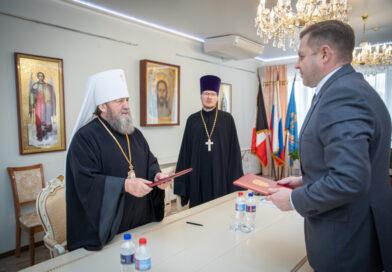 Состоялось подписание соглашения о сотрудничестве между Ижевской епархией и МВД по УР