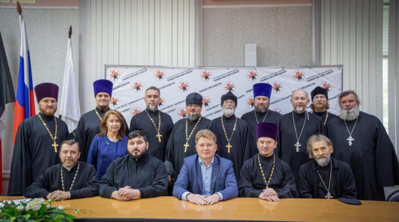 Состоялось собрание духовенства Завьяловского благочиния