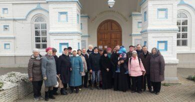 Окормление Всероссийского общества инвалидов