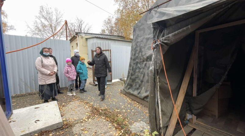 Добровольцы готовят к открытию «Тёплый Кров»